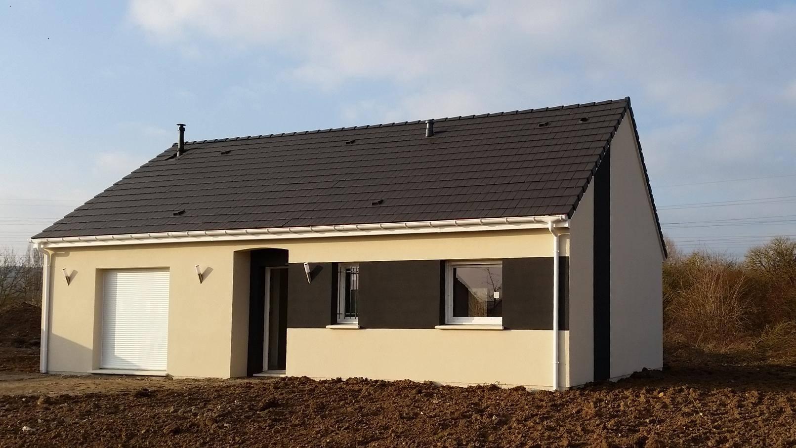 Maisons + Terrains du constructeur MAISON CASTOR • 80 m² • EVRECY