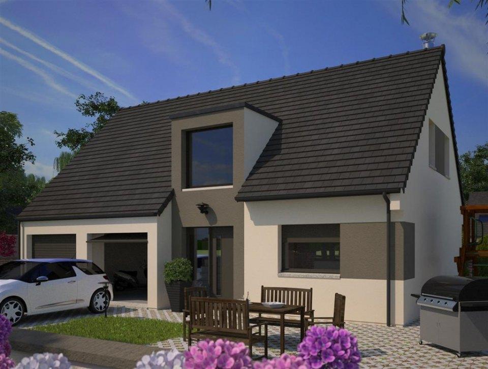 Maisons + Terrains du constructeur MAISONS FRANCE CONFORT • 91 m² • FRETIN