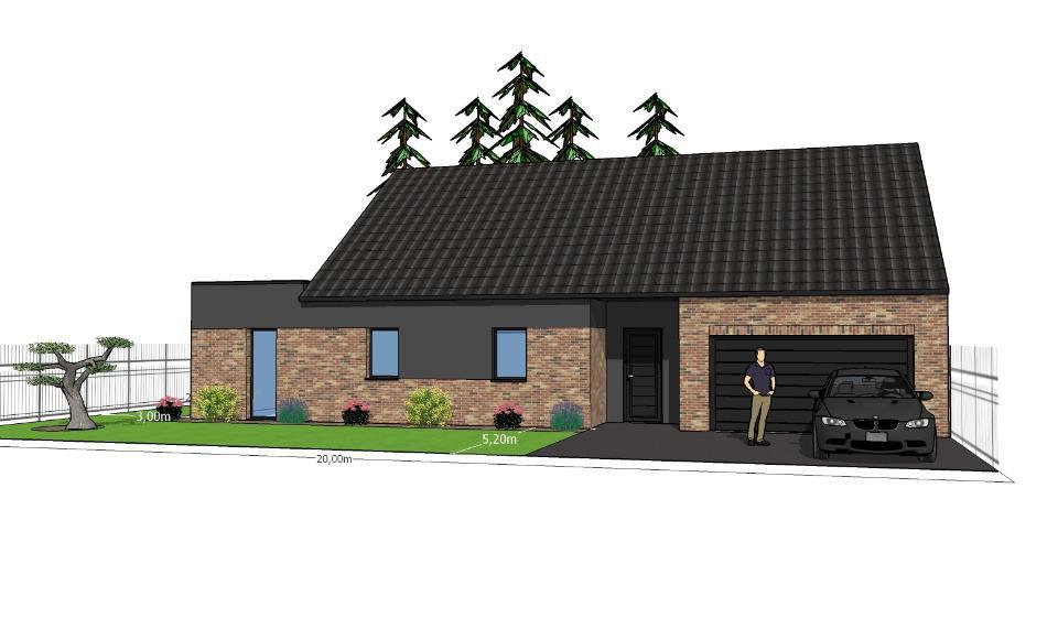 Maisons + Terrains du constructeur MAISONS FRANCE CONFORT • 125 m² • BERTHEN
