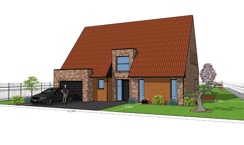 Maisons + Terrains du constructeur MAISONS FRANCE CONFORT • 120 m² • NOMAIN