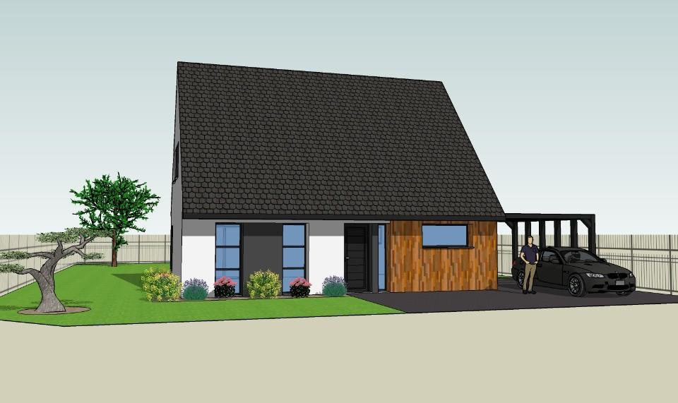 Terrains du constructeur MAISONS FRANCE CONFORT • 401 m² • NOMAIN