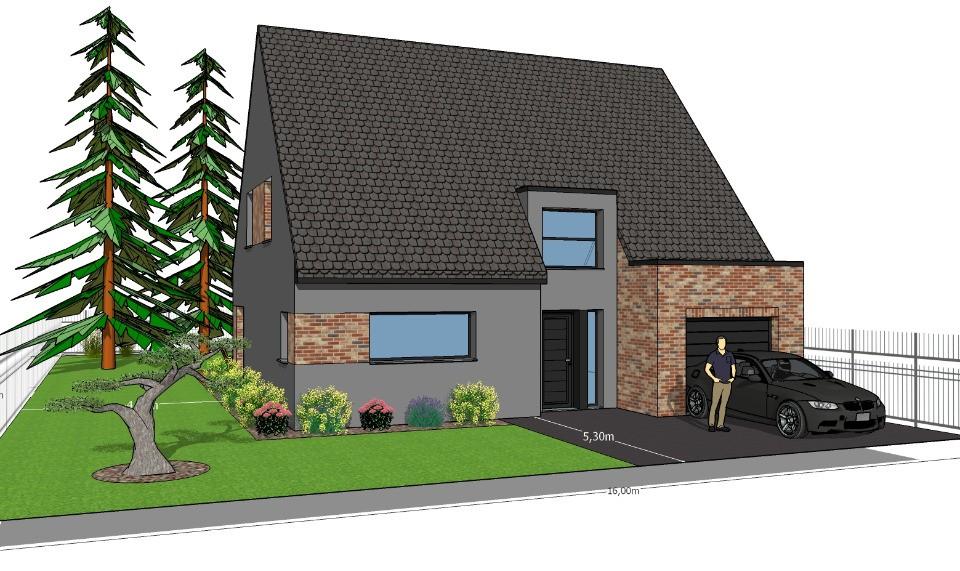 Maisons + Terrains du constructeur MAISONS FRANCE CONFORT • 120 m² • WAHAGNIES