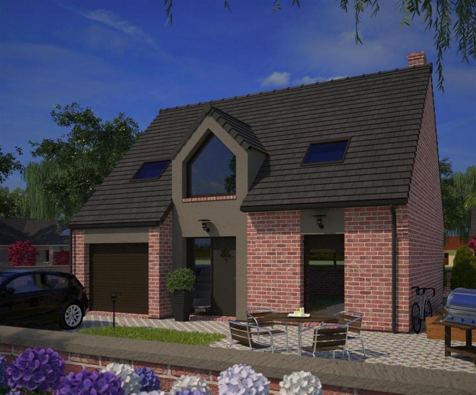 Maisons + Terrains du constructeur MAISONS FRANCE CONFORT • 91 m² • FROMELLES