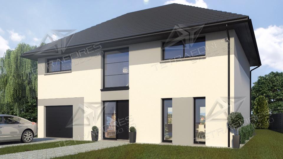 Maisons + Terrains du constructeur MAISONS FRANCE CONFORT • 98 m² • FROMELLES
