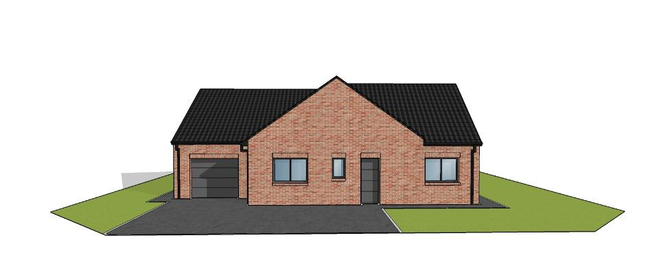 Maisons + Terrains du constructeur MAISONS FRANCE CONFORT • 115 m² • FROMELLES