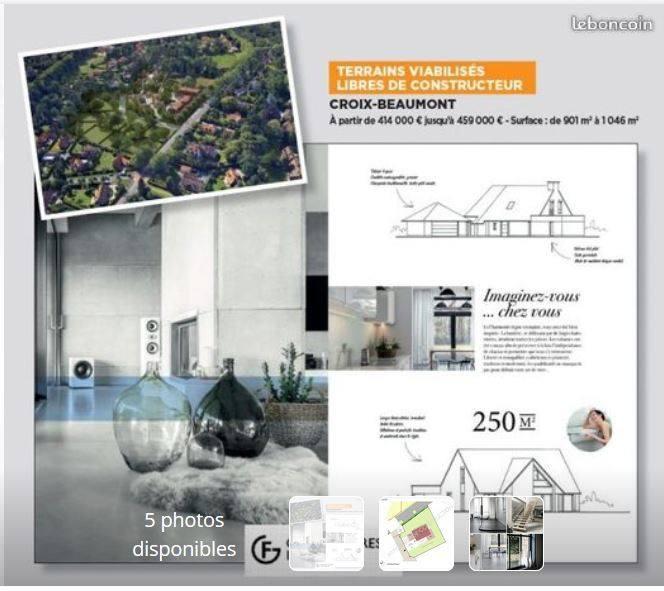 Terrains du constructeur MAISONS FRANCE CONFORT • 908 m² • CROIX