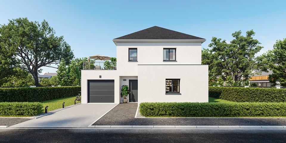 Maisons + Terrains du constructeur MAISONS FRANCE CONFORT • 120 m² • MERIGNIES