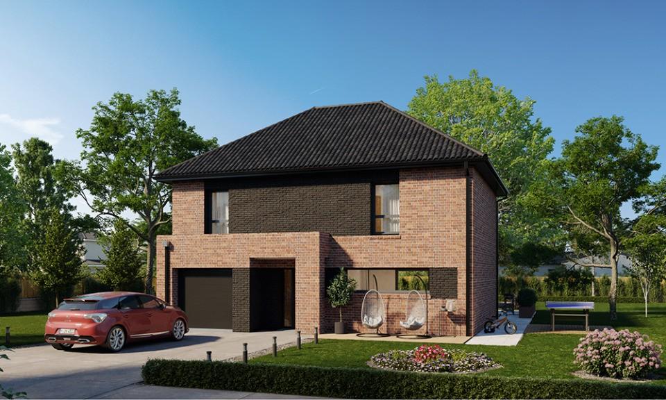 Maisons + Terrains du constructeur MAISONS FRANCE CONFORT • 125 m² • FRELINGHIEN
