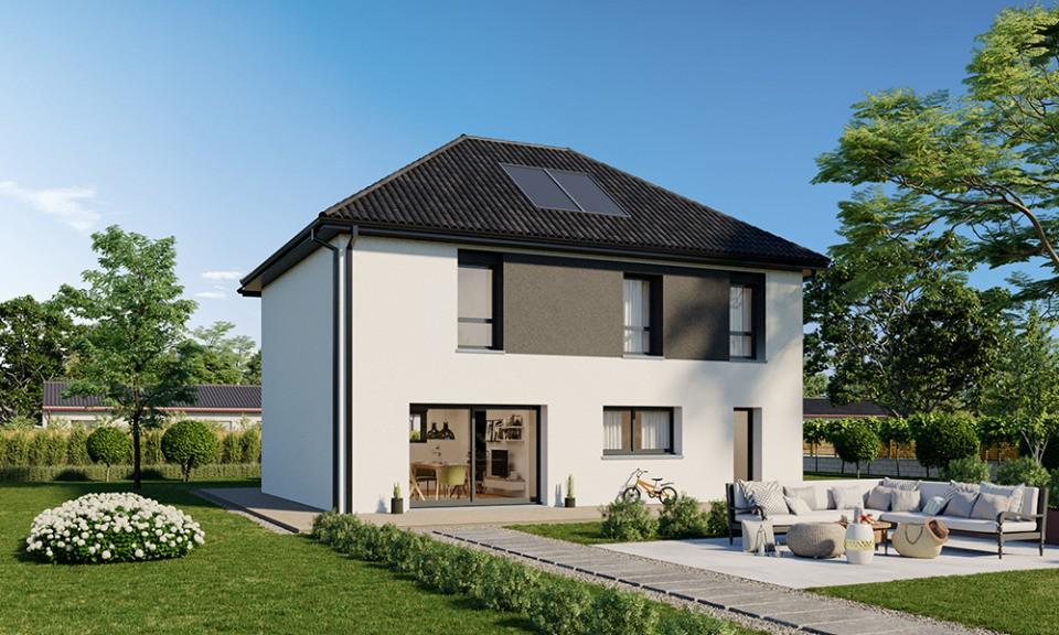 Maisons + Terrains du constructeur MAISONS FRANCE CONFORT • 125 m² • LA CHAPELLE D'ARMENTIERES