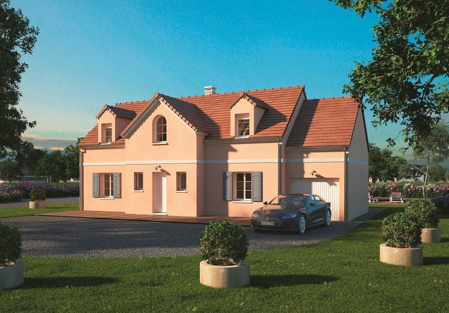 Maisons + Terrains du constructeur MAISONS BALENCY • 125 m² • HEROUVILLE