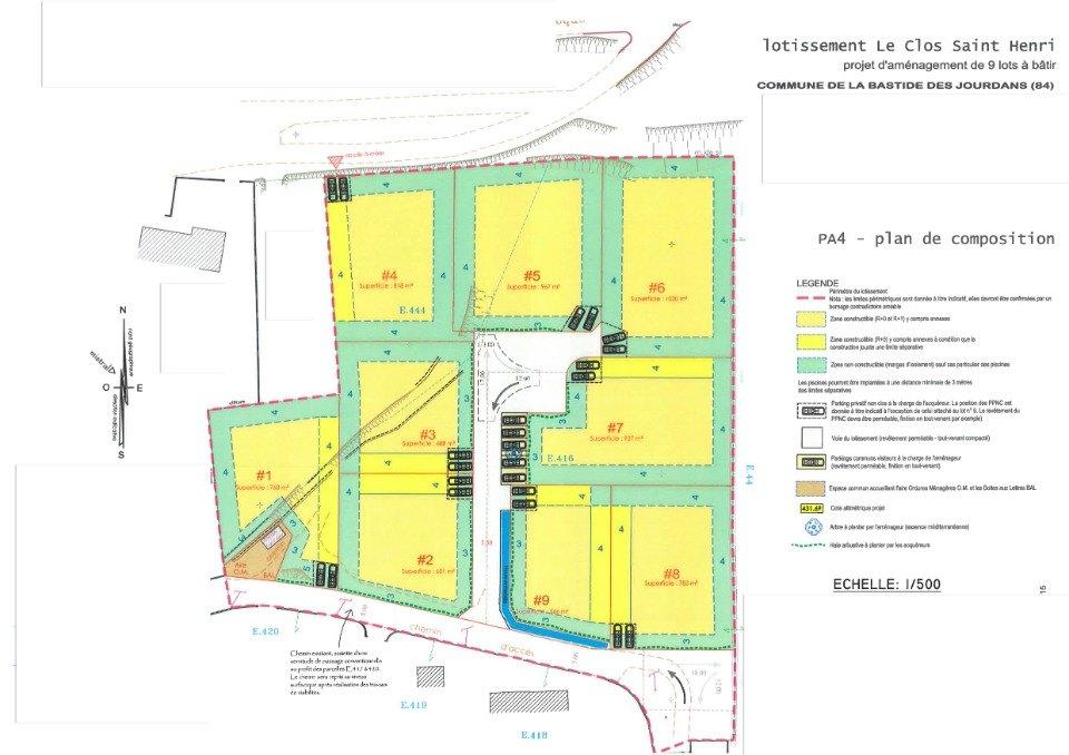 Terrains du constructeur LES MAISONS DE MANON • 967 m² • LA BASTIDE DES JOURDANS