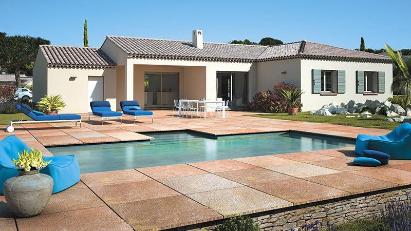 Maisons + Terrains du constructeur LES MAISONS DE MANON • 110 m² • LA BASTIDE DES JOURDANS