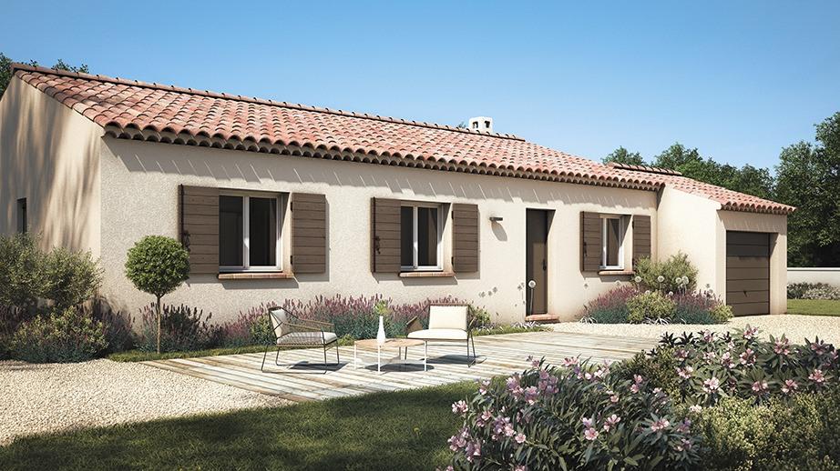 Maisons + Terrains du constructeur LES MAISONS DE MANON • 100 m² • LA BASTIDE DES JOURDANS
