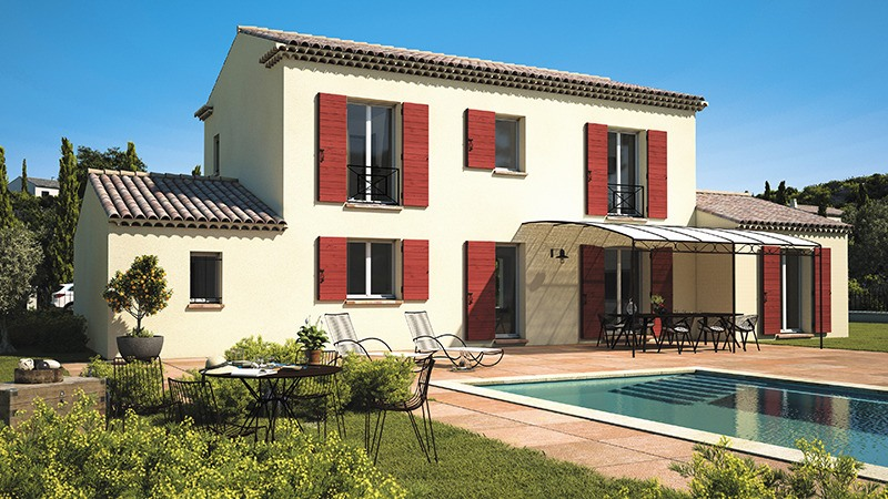 Maisons + Terrains du constructeur LES MAISONS DE MANON • 90 m² • LA BOUILLADISSE