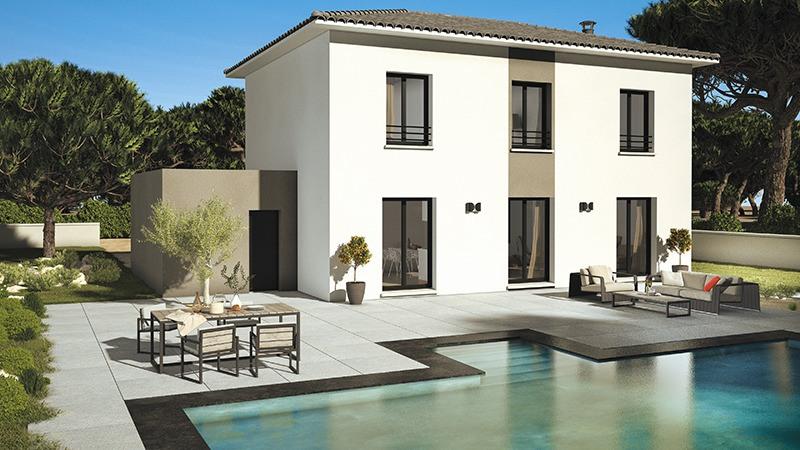 Maisons + Terrains du constructeur LES MAISONS DE MANON • 100 m² • SAINT MITRE LES REMPARTS