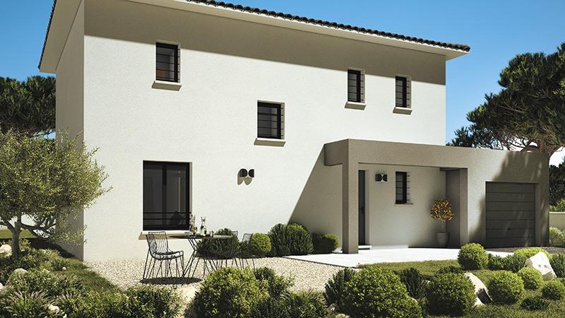 Maisons + Terrains du constructeur LES MAISONS DE MANON • 100 m² • CABASSE