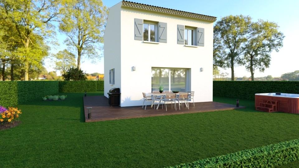 Maisons + Terrains du constructeur LES MAISONS DE MANON • 69 m² • LAMBESC
