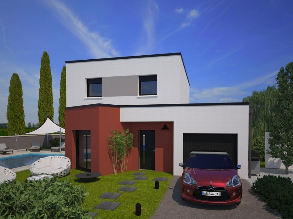 Maisons + Terrains du constructeur MAISONS FRANCE CONFORT • 88 m² • LOMBERS