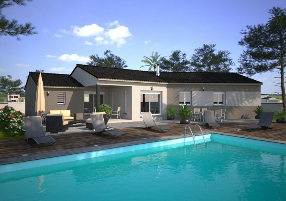 Maisons + Terrains du constructeur MAISONS FRANCE CONFORT • 115 m² • CADALEN
