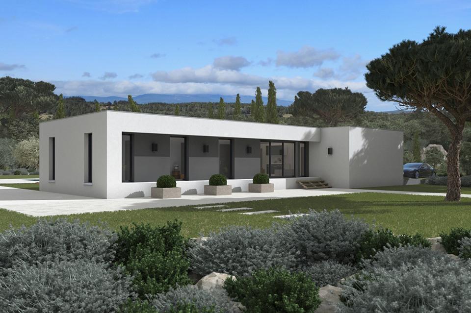 Maisons + Terrains du constructeur MAISONS FRANCE CONFORT • 115 m² • FAUCH