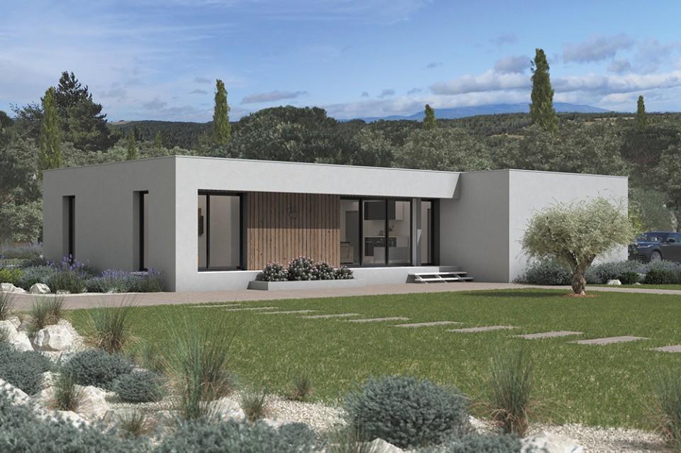 Maisons + Terrains du constructeur MAISONS FRANCE CONFORT • 95 m² • CUNAC