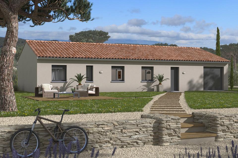 Maisons + Terrains du constructeur MAISONS FRANCE CONFORT • 113 m² • CALMONT