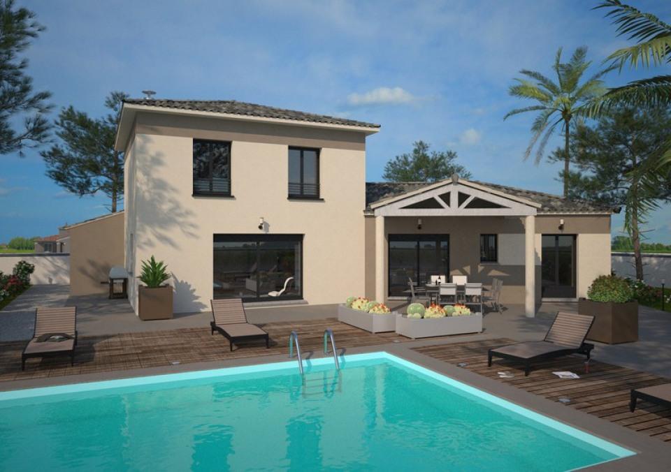 Maisons + Terrains du constructeur MAISONS FRANCE CONFORT • 125 m² • CABANES