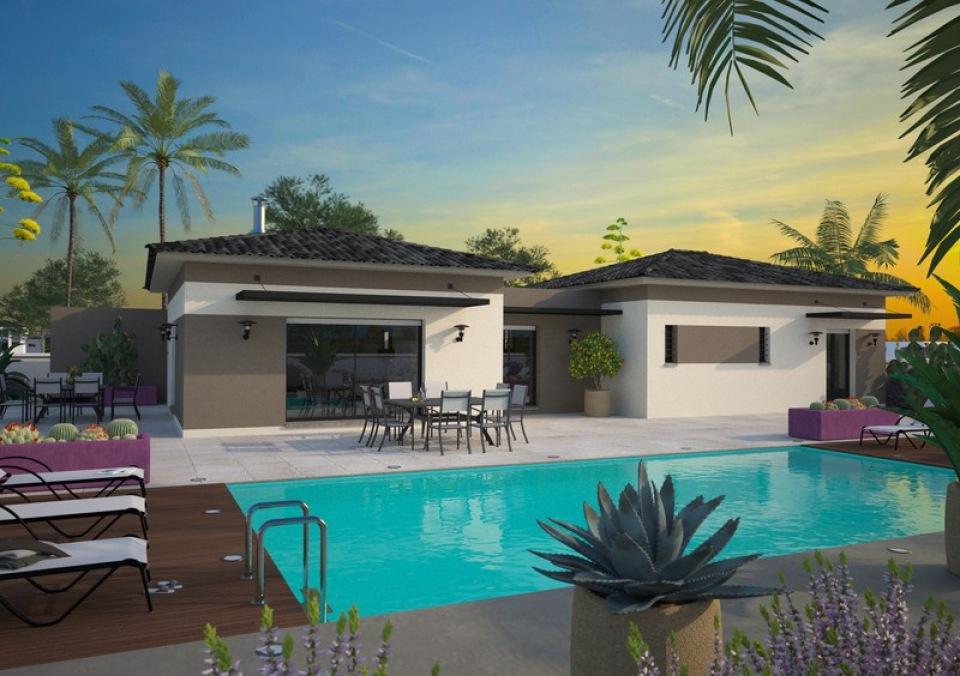 Maisons + Terrains du constructeur MAISONS FRANCE CONFORT • 120 m² • CABANES