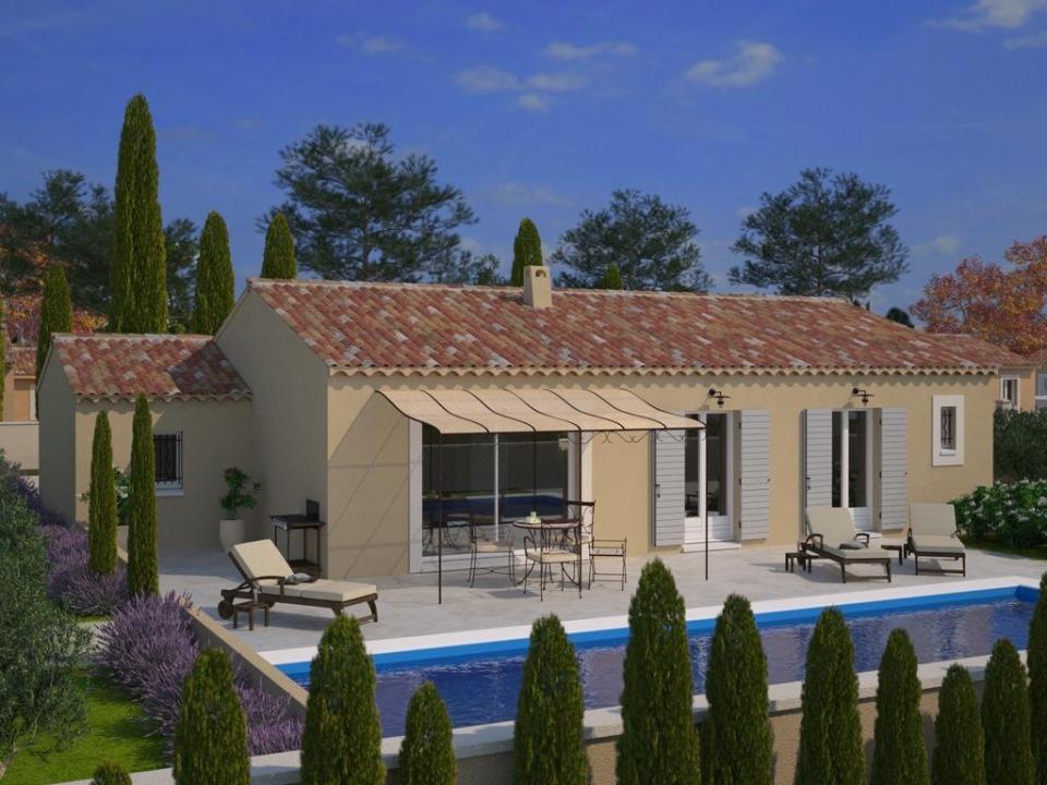 Maisons + Terrains du constructeur MAISONS FRANCE CONFORT • 93 m² • SAINT LYS