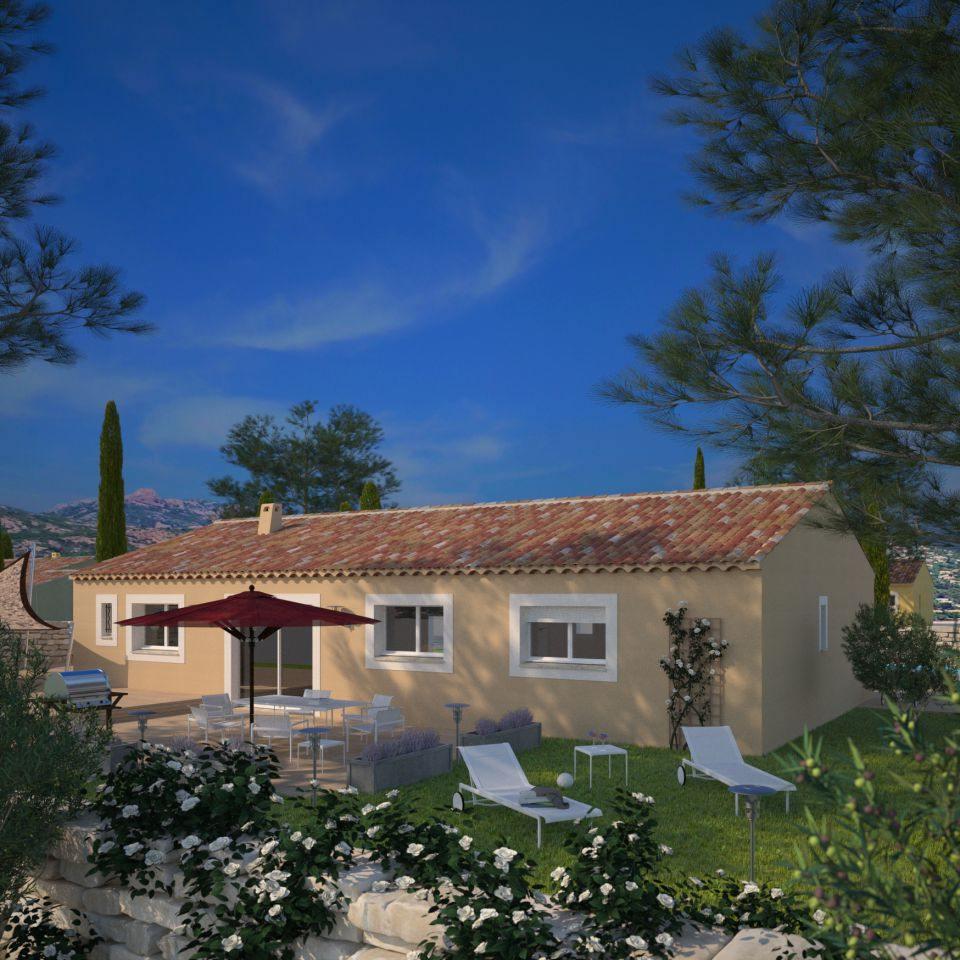 Maisons + Terrains du constructeur MAISONS FRANCE CONFORT • 84 m² • SAINT CEZERT
