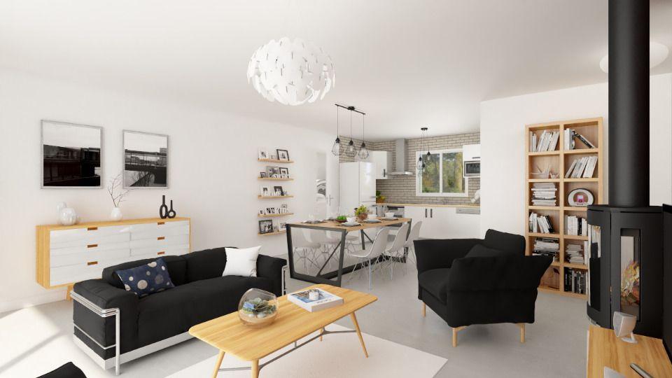 Maisons + Terrains du constructeur MAISONS FRANCE CONFORT • 105 m² • MONTBETON