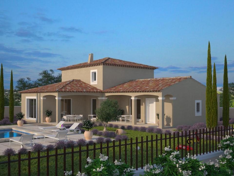 Maisons + Terrains du constructeur MAISONS FRANCE CONFORT • 140 m² • TRANS EN PROVENCE