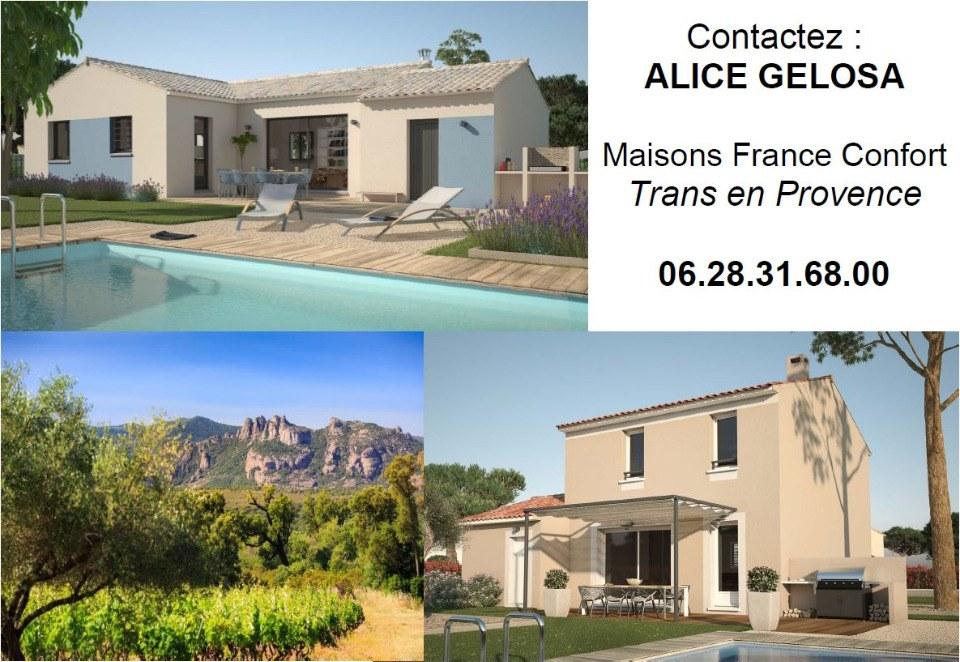 Terrains du constructeur MAISONS FRANCE CONFORT • 1200 m² • CARCES