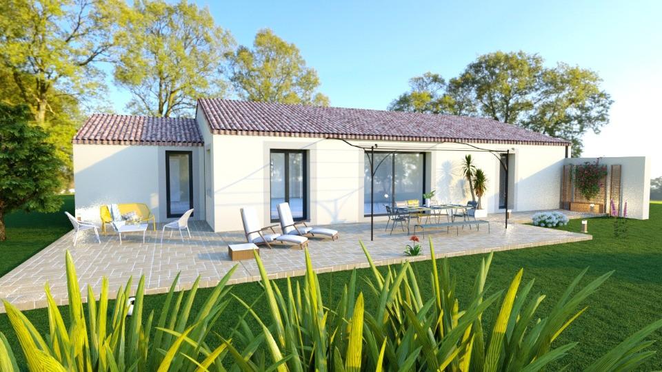 Maisons + Terrains du constructeur MAISONS FRANCE CONFORT • 109 m² • CALLAS