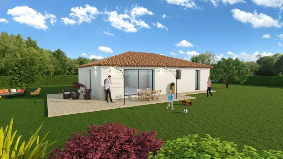 Maisons + Terrains du constructeur MAISONS FRANCE CONFORT • 93 m² • LA MOTTE