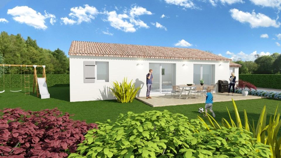 Maisons + Terrains du constructeur MAISONS FRANCE CONFORT • 93 m² • SALERNES