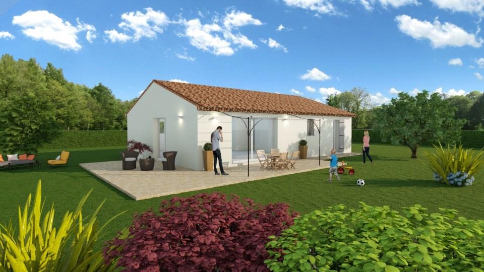 Maisons + Terrains du constructeur MAISONS FRANCE CONFORT • 93 m² • LORGUES