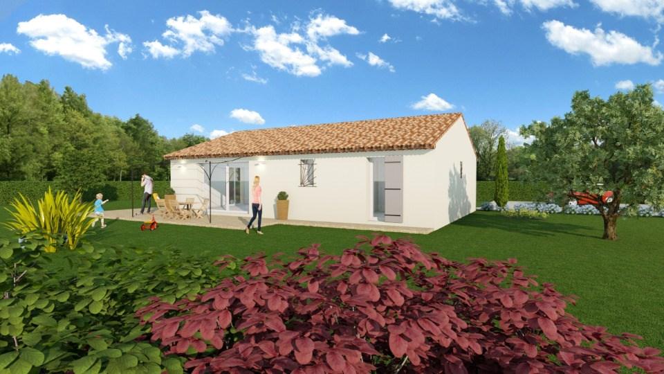 Maisons + Terrains du constructeur MAISONS FRANCE CONFORT • 93 m² • DRAGUIGNAN