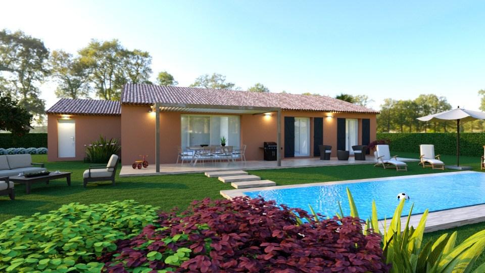 Maisons + Terrains du constructeur MAISONS FRANCE CONFORT • 110 m² • DRAGUIGNAN
