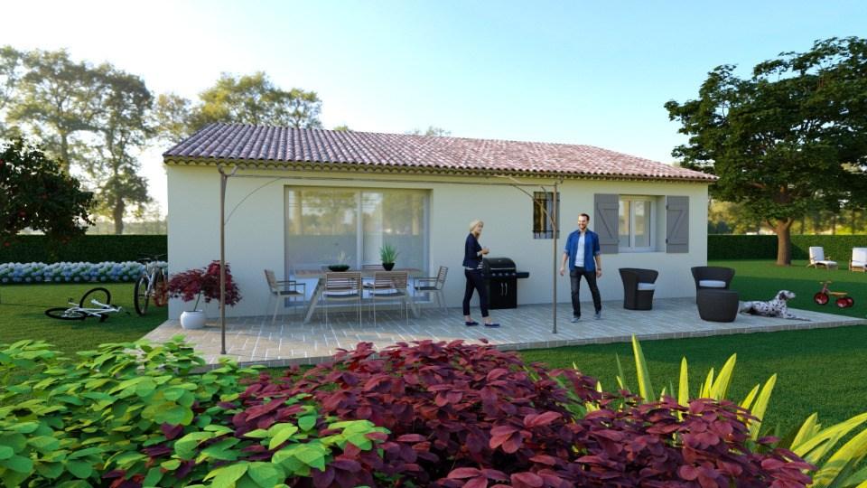 Maisons + Terrains du constructeur MAISONS FRANCE CONFORT • 83 m² • FLAYOSC