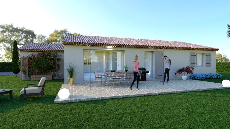Maisons + Terrains du constructeur MAISONS FRANCE CONFORT • 100 m² • FLAYOSC