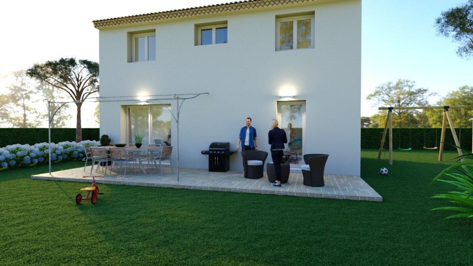 Maisons + Terrains du constructeur MAISONS FRANCE CONFORT • 95 m² • VILLECROZE