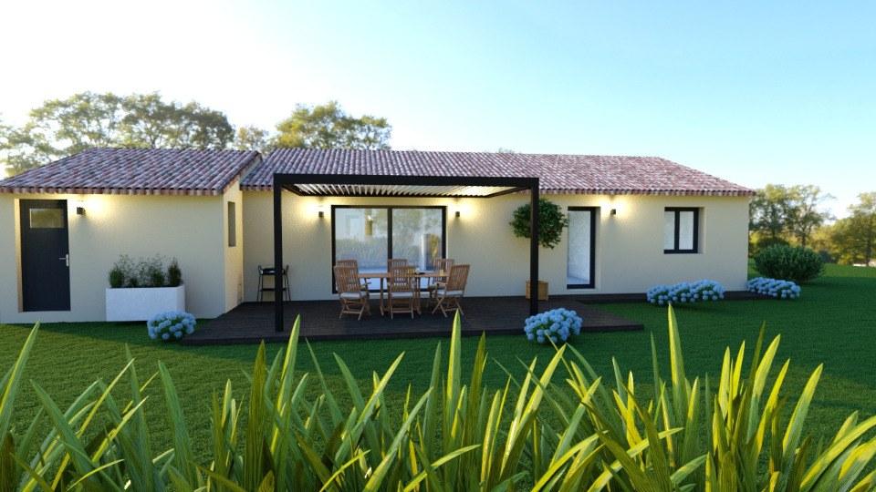 Maisons + Terrains du constructeur MAISONS FRANCE CONFORT • 90 m² • LORGUES