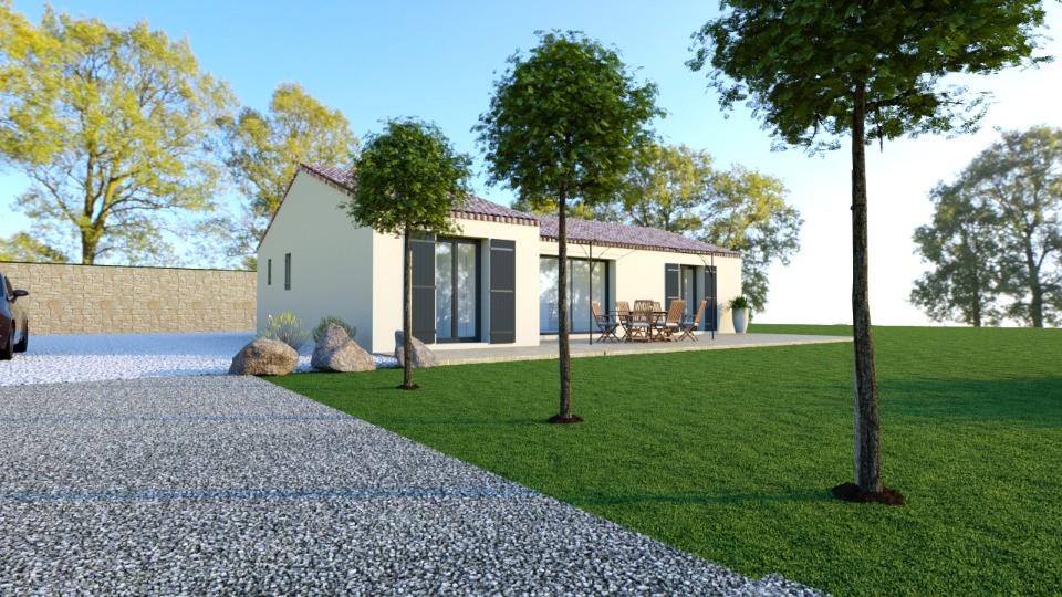 Maisons + Terrains du constructeur MAISONS FRANCE CONFORT • 94 m² • FIGANIERES