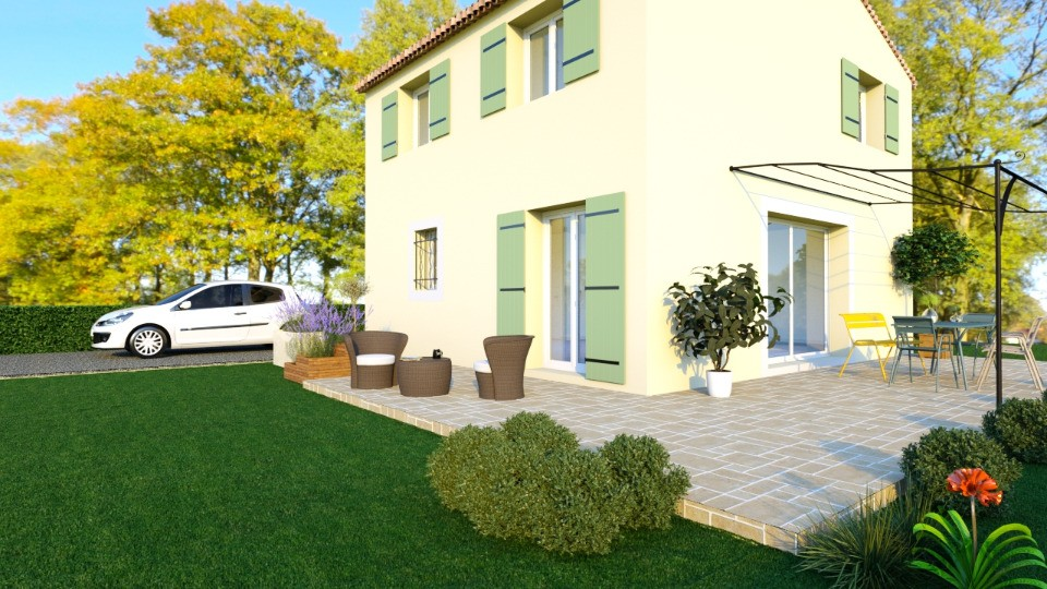 Maisons + Terrains du constructeur MAISONS FRANCE CONFORT • 100 m² • LORGUES