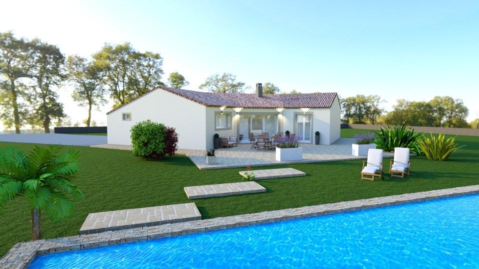 Maisons + Terrains du constructeur MAISONS FRANCE CONFORT • 95 m² • FIGANIERES