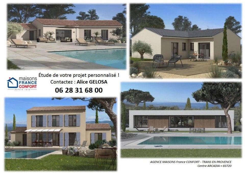 Terrains du constructeur MAISONS FRANCE CONFORT • 1037 m² • LORGUES