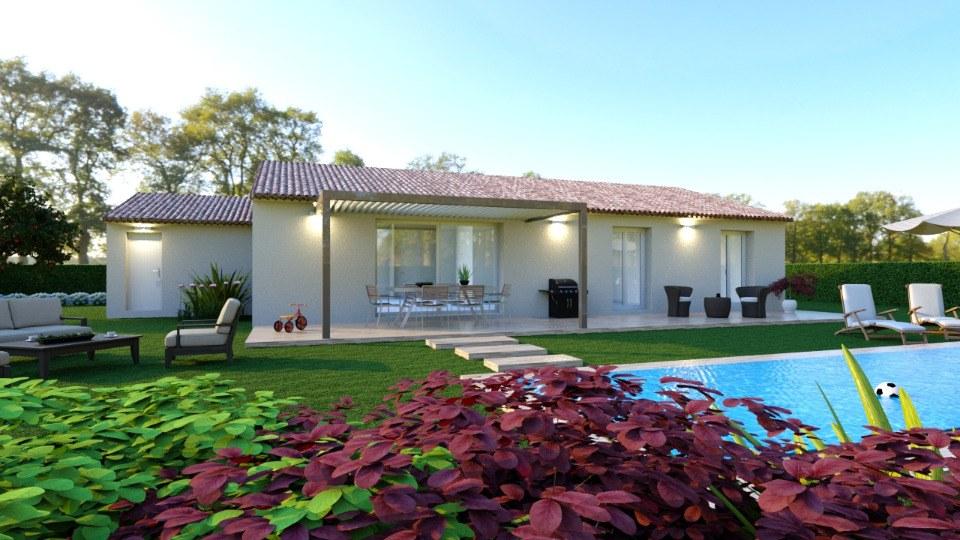 Maisons + Terrains du constructeur MAISONS FRANCE CONFORT • 110 m² • CARCES