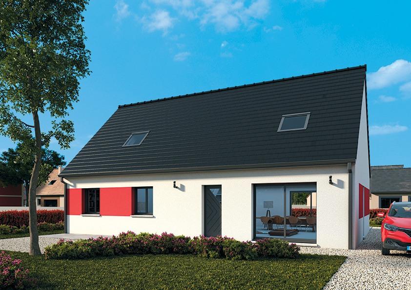 Maisons + Terrains du constructeur MAISONS FRANCE CONFORT • 80 m² • AUNEAU