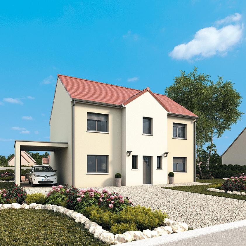 Maisons + Terrains du constructeur MAISONS FRANCE CONFORT • 135 m² • SAINT AUBIN DES BOIS